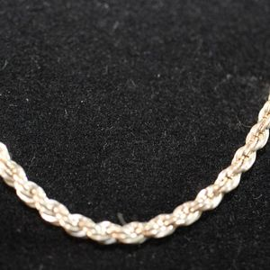 Sterling Silvern 925, Rope Chain